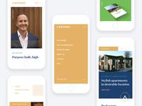 Assured mobile website
