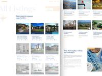 Assured property listings grid