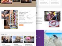 Dresden homepage storytelling