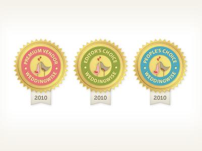 WeddingWise.co.nz Awards weddingwise award gold seal ribbon 2010