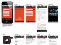 Maori Dictionary iPhone App Design