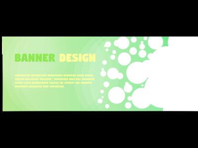 Banner design (Green)