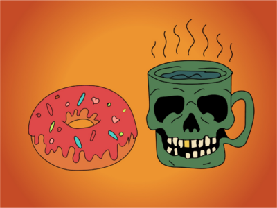 Cup & donut
