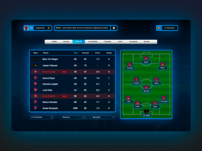 Off Field - Football Manager