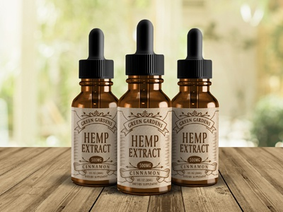 Hemp Extract Label
