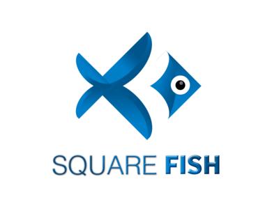 Square Fish Logo