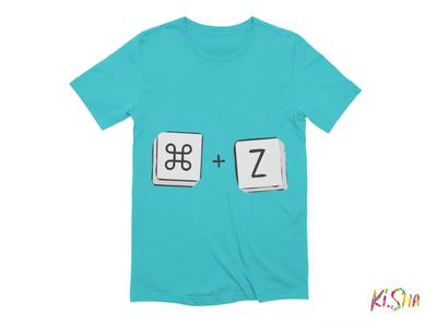 "T-Shirt ""cmd+Z"""