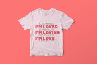 "shirt design concept - ""love"" project"