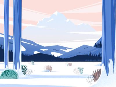 雪景Snow scene