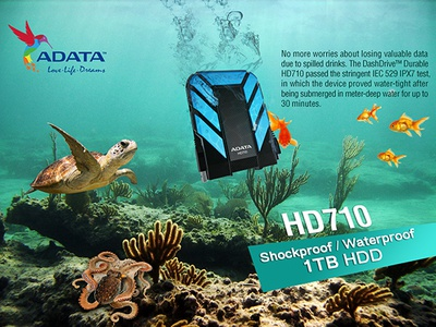 ADATA Waterproof Hard drive