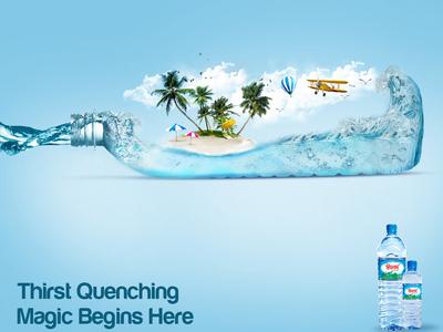 IFAD Drinking Water Advertisement