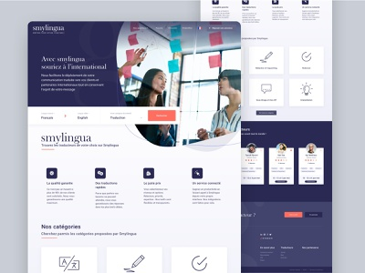 Smylingua marketplace card ux branding sketch ui service marketplace marketplace service design service design