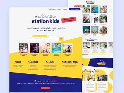 Station Kids marketplace activities kids service marketplace service design service marketplace design sketch