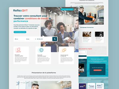 Reflex QVT service marketplace service design design marketplace sketch