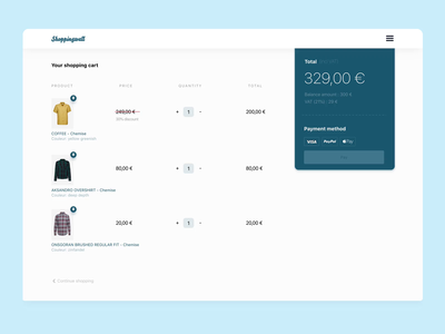 Checkout animation payment process checkout fashion motion animation marketplace design ui sketch flinto
