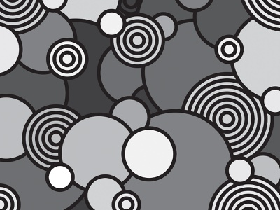Circles of Mystery vector design illustration