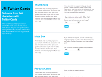 plugin redesign - JM twitter cards