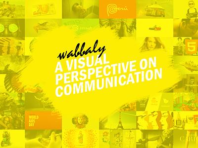 Wabbaly background , adding value design branding identity
