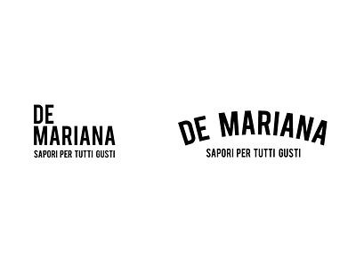 Mariana minimarket logo logo design graphic design design