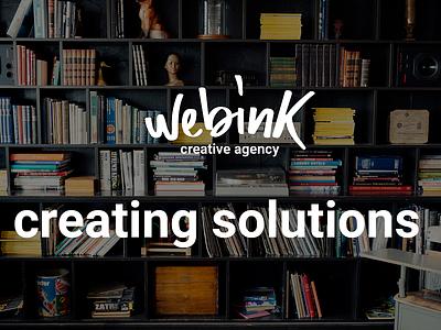 webink presentation visual identity logo design brand identity logo identity