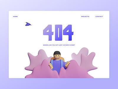 404 page design – someone is lost web error 404 404 page 404 webdesigner webdesign designer userexperience ux userinterface 3d ui design clean clean ui 2021 uxui uidesign ui design dailyui