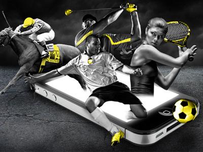 Sportsbet graphic banner sport bw