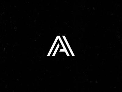 AA Monogram logo vector brand grid aa monogram illustrator