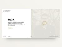 Portfolio 2018 - Landing page