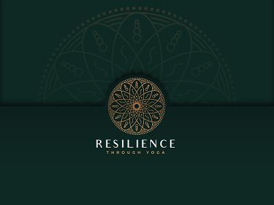 Mandala spiritual yoga mandalas minimalist luxury abstract mandala vector typography modern logo mark logo design logo lettering illustration gradient design branding agency branding 2020