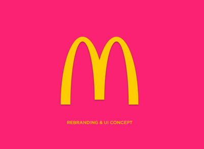McDonald's Rebranding & UI Concept