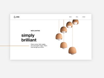 Simple. gray lights font white minimalistic minimal simple design web interior design
