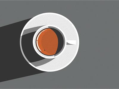 Coffee illustration vector texture dark office illustration drawing design coffee