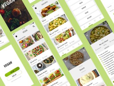 Vegan Recipes App