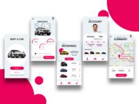 Rent a Car App