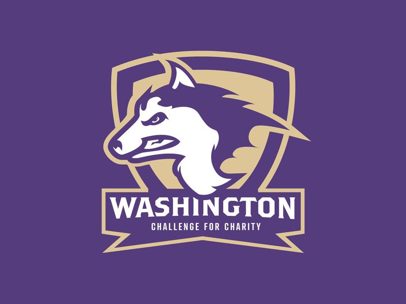 UW Challenge For Charity T-Shirt college husky t-shirt