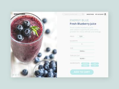DailyUI012 E-Commerce Shop (Single Item) web dailyui
