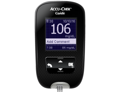 Glucometer illustration