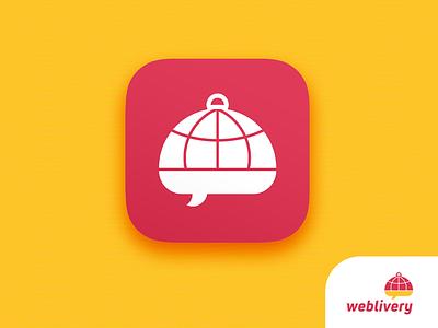 Weblivery Identidade Visual - Brand Identity branding icon app logo design