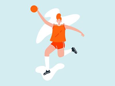 Baller Illustration vector design illustration wip work in progress brand identity branding art direction
