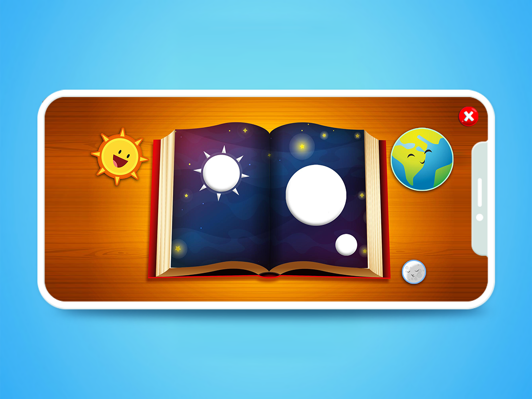 The first contact with the Bible. creation moon earth sun lovely biblical bible jesus christ jesus ios game fun design cute creative art apple app android