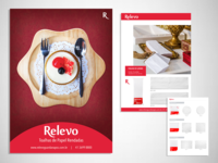 Advertisements and catalogs for companies.