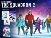 Comic book: T.D.B. Squadron 2
