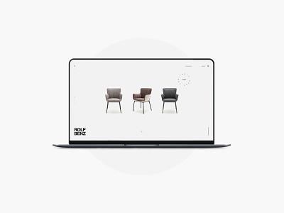 Rolfbenz fashion brand concept buy branding ui web designer design shopping