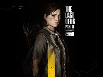 The Last of us Part Ⅱ concept ui design web designer game design cool game