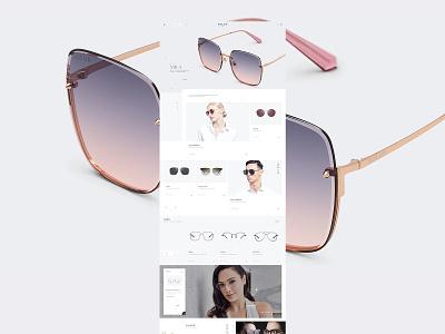 Bolon eyewear # 暴龙眼镜 ui fashion concept brand branding shopping buy glasses web designer design