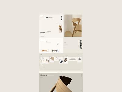 Muuto Concept web designer branding buy shopping brand concept design website