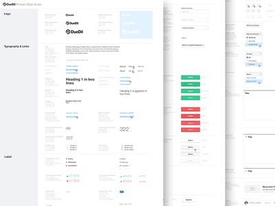 Product Design System Guidelines