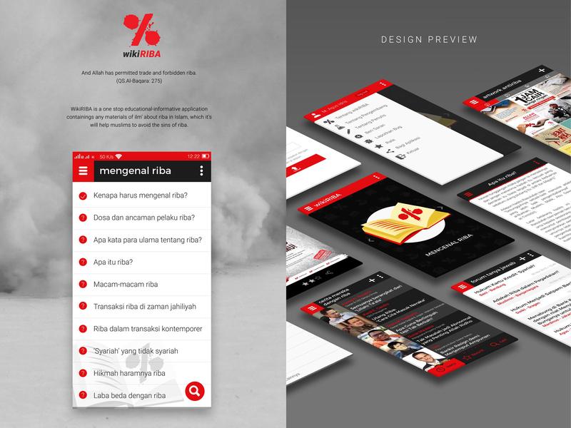 wikiRIBA UI/UX Design muslim app flat muamalat islam islamic app riba website web ux user experience ui service motion design interface design interaction illustration home page