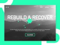 Daily UI 003 – Landing Page