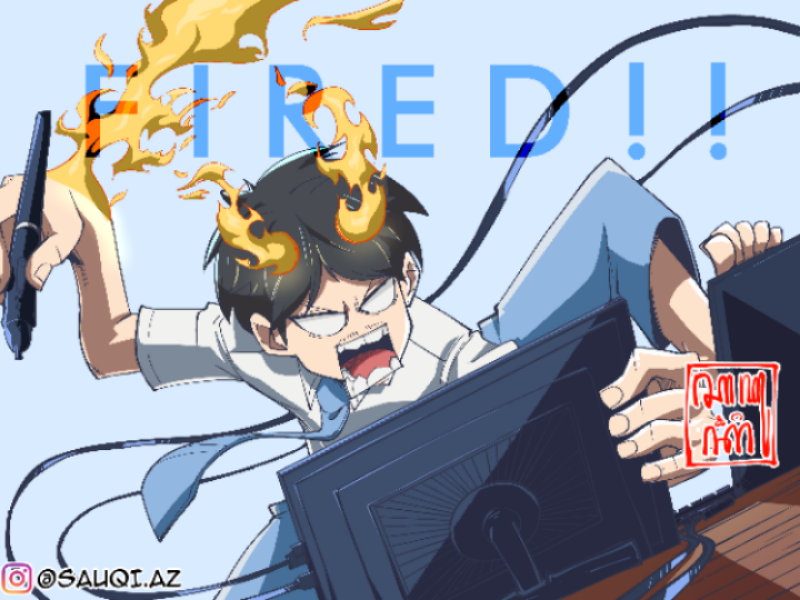 Fired! manga anime csp fanart